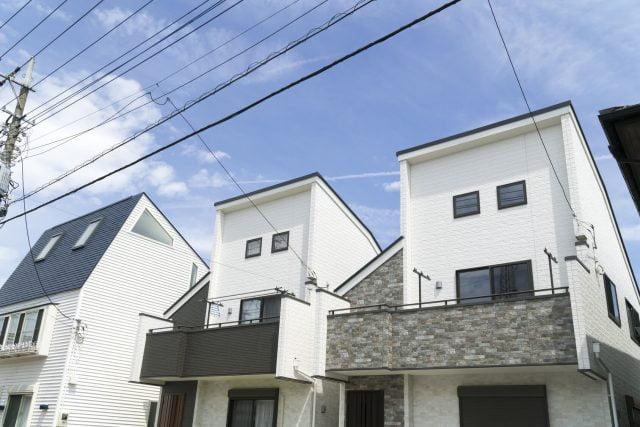 三階建て狭小住宅