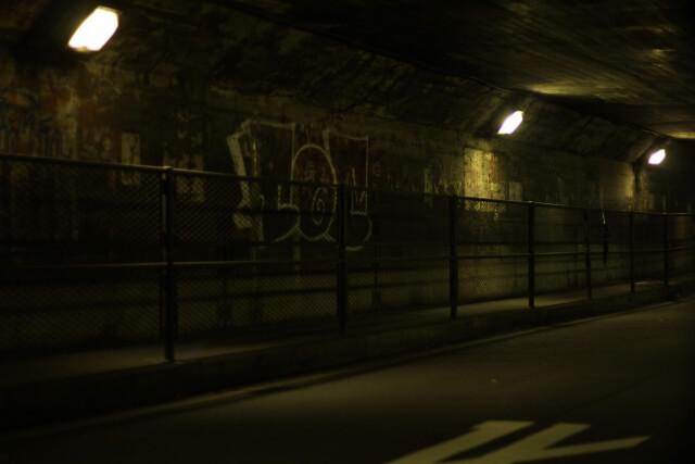 治安が悪い町の夜道